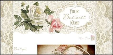 romantic web design victoria s shabby cottage