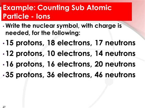 Counting Protons Neutrons And Electrons by Unit 5 Atomic Structure Ppt