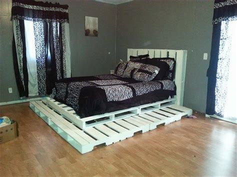 diy pallet bed your own creativity ideas 101 pallets 10 beautiful and comfortable reclaimed pallet bed