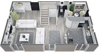 modele avec etage maison moderne