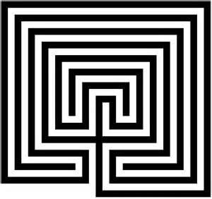 Maze Template by Crear Plantilla De Laberinto En Powerpoint Usando Formas