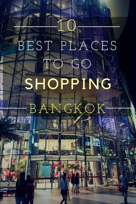 places   shopping  bangkok