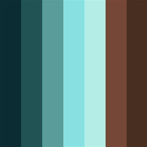 color combination for blue 25 best ideas about brown color palettes on pinterest