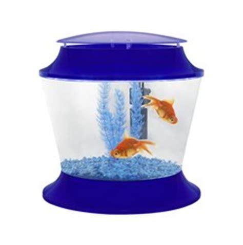 Set Golfish Kid starter kit blue goldfish bowl set up for children aquatic fish pets pet co uk pet supplies