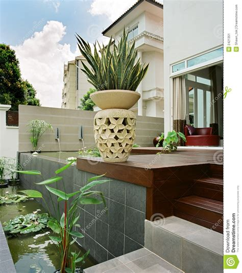 home design interior and garden interior design garden stock image image of design