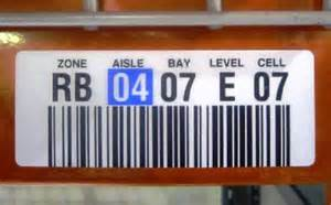 Warehouse Rack Labels by Bin Location Labels Images Search