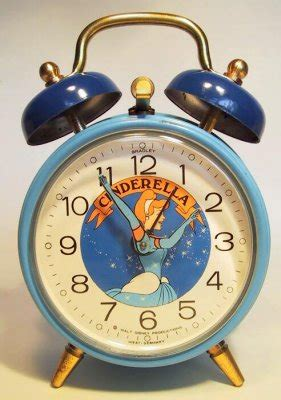 cinderella alarm clock from our clocks and watches collection disney collectibles and