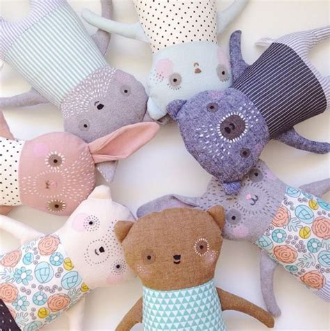 Handmade Soft Toys - 25 best handmade soft toys ideas on