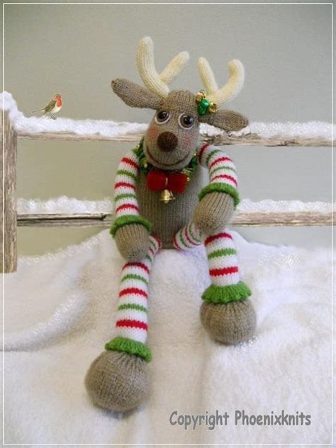 reindeer pattern pinterest knitting free pattern quot oliver reindeer quot level easy