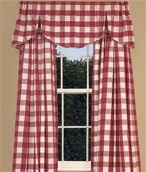 red buffalo check curtains 21 rosemary lane kitchen nostalgia buffalo check