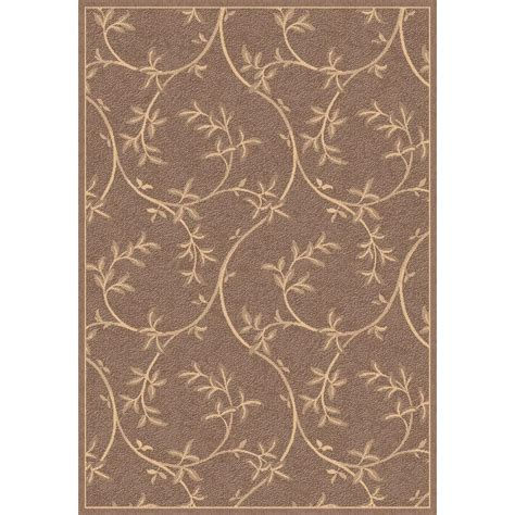 brown outdoor rug dynamic rugs piazza brown 5 ft 3 in x 7 ft 7 in indoor outdoor area rug pz6925853009 the