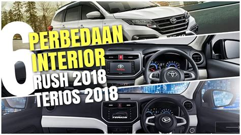 interior new terios 2018 modifikasi toyota rush 2018 terbaru modifikasi style
