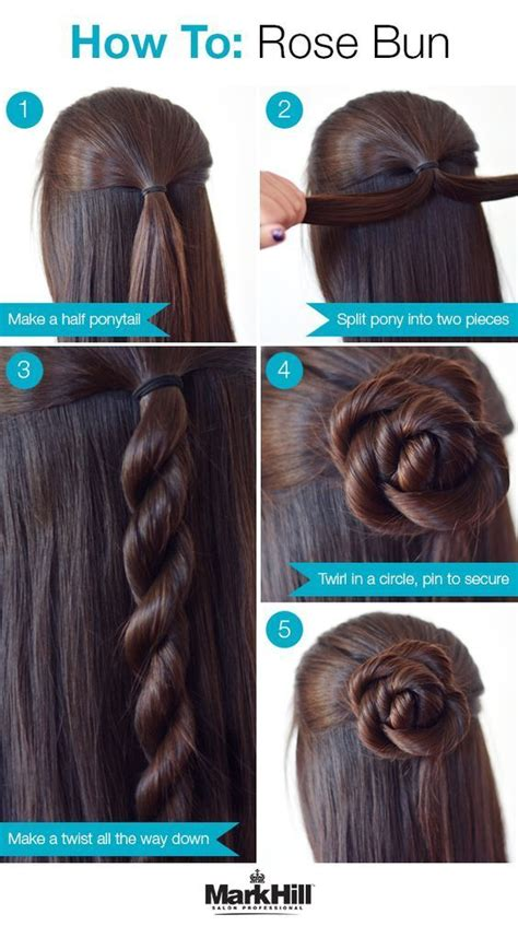 step by step hairstyles easy for kids 26 amazing bun updo ideas for long medium length hair