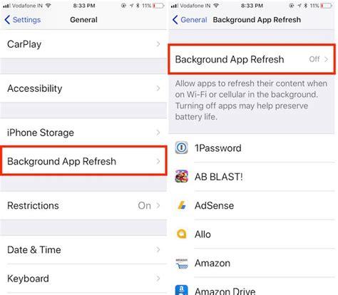 tips  improve ios ios ios  battery life