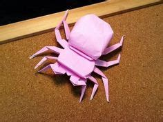 origami tarantula tutorial origami search and google on pinterest
