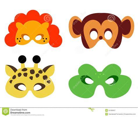 animal mask stock vector image of false dangerous