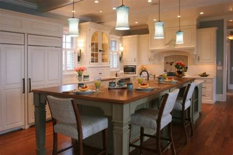 island with seating 30 kitchen islands with tables a simple but very clever combo