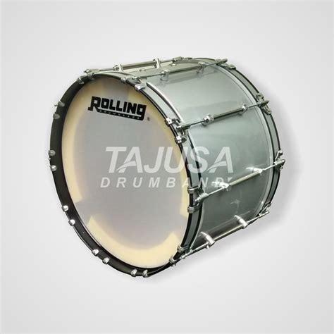 Bass Drum 22 Inch Kategori Sma Import bass hts pengrajin drumband