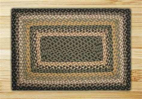 rectangle braided rugs rectangle black mustard and creme jute braided earth rug 174