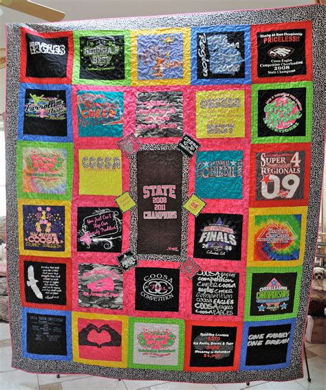 Quilting At Shirt Quilt by Edge To Edge Quilting Inc T Shirt Quilts