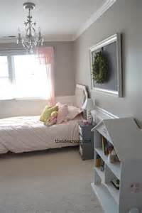 Girls Room That Have A Office Up Stairs Girls Room Reveal The Idea Room
