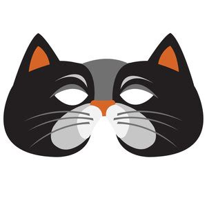 cat mask clipart clipground