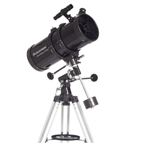 telescopesnet celestron powerseeker eq newtonian reflector telescope woodland hills