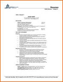 Skill Set Exles Resume by Skill Set Exles Resume Resume Cv Cover Letter
