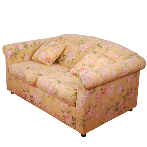 broyhill floral sofa broyhill sofa with floral pattern ebth