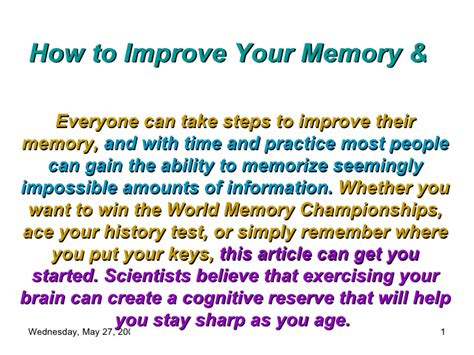memory the powerful guide to improve memory memory tips memory techniques unlimited memory memory improvement for success books how to improve your memory