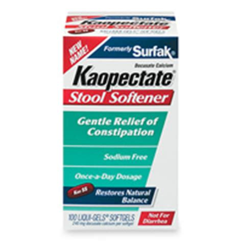 Dulcolax Stool Softener Pregnancy by Kaopectate Patient Information Description Dosage And
