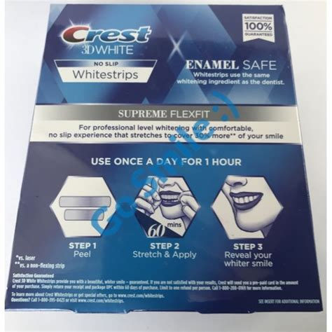 crest whitening strips supreme crest 3d white luxe supreme flexfit whitestrips купить в