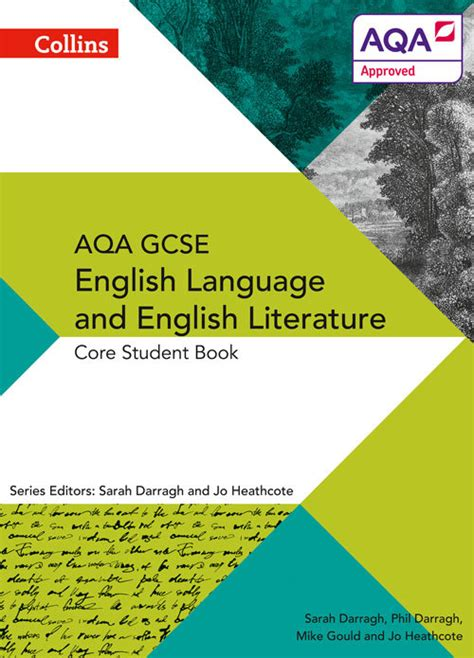collins aqa gcse english language and english literature core student book by darragh phil