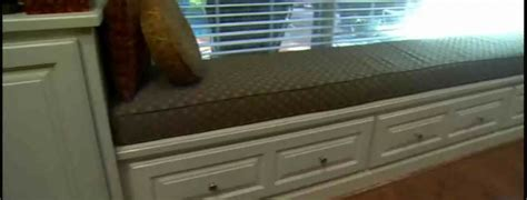 Window Seats With Drawers by Building A Window Seat That Has Drawers