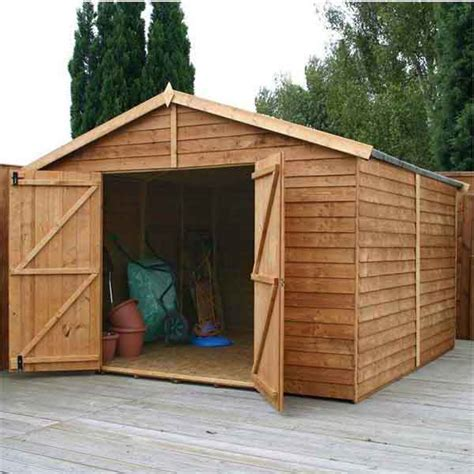 Used Wooden Sheds by 10 X 10ft Wooden Garden Shed Windowless Wood Sheds