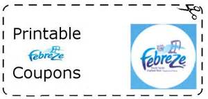 Febreze Air Freshener Coupons Febreze Printable Coupons Printable Grocery Coupons