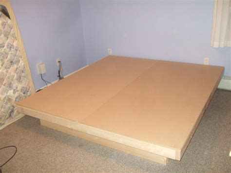 how to build a size platform bed frame woodwork bed frame plans platform pdf plans
