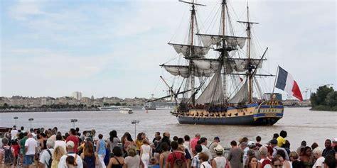 hermione bateau voyage voyage de l hermione en m 233 diterran 233 e dates et lieux des