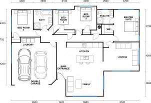 2d house plan house of samples