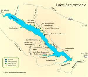 lake california map lake san antonio map