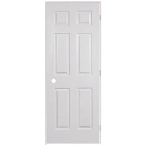 home depot 6 panel interior door 109 65 at home depot steves sons 6 panel textured primed white solid evolution prehung