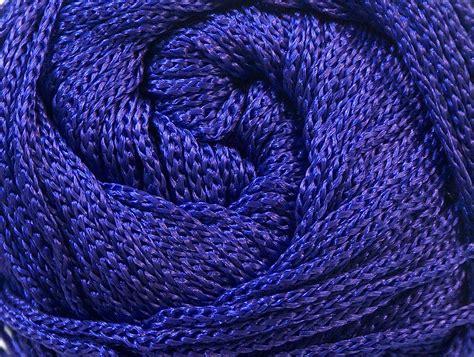 Macrame Yarn - macrame cord purple basic plain yarns yarns