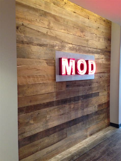 Mod Pizza Corporate Office by Office Design Gallery Pioneer Millworks