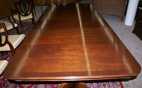 antique dining room tables for sale really nice mahogany duncan phyfe banded inlaid dining