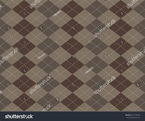 seamless argyle pattern argyle seamless pattern stock vector 527754568 shutterstock