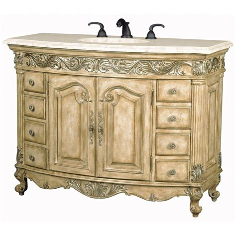 ambella home bathroom vanities ambella home antique 48 antique single sink bathroom