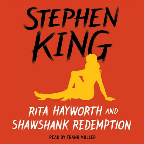 redemption books hayworth and shawshank redemption audiobook by