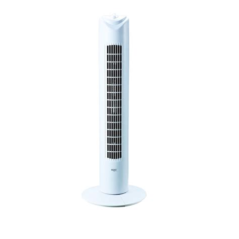 easy home tower fan eiger 31 inch slim tower fan at homebase co uk