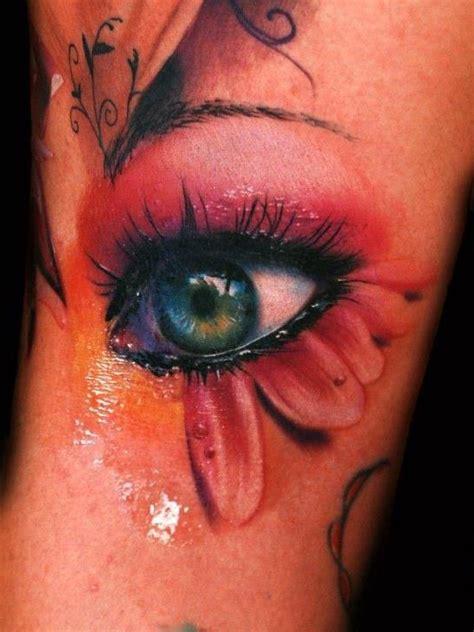 Imagenes De Ojos Con Flores | tatuaje ojo