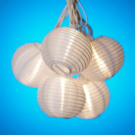 5 Best Paper Lantern String Lights Useful And Beautiful White Paper Lantern String Lights